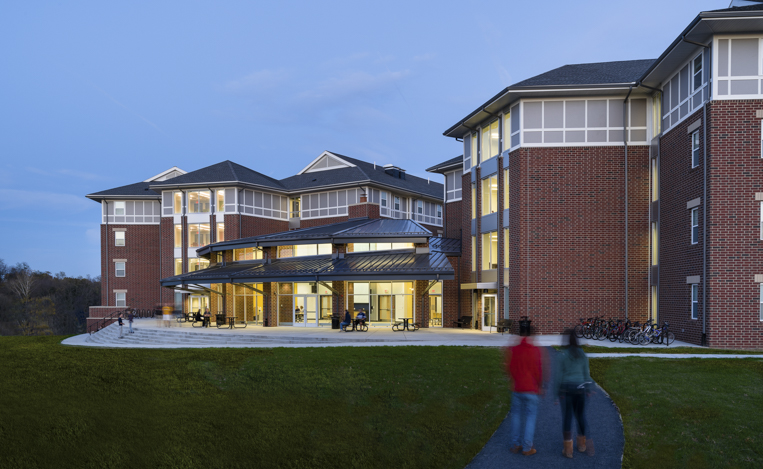 Millersville university south quad residence halls for Housing construction companies
